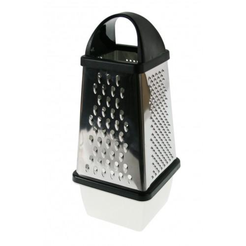 Rallador grande de cocina inoxidable con recogedor desmontable utensilio menaje