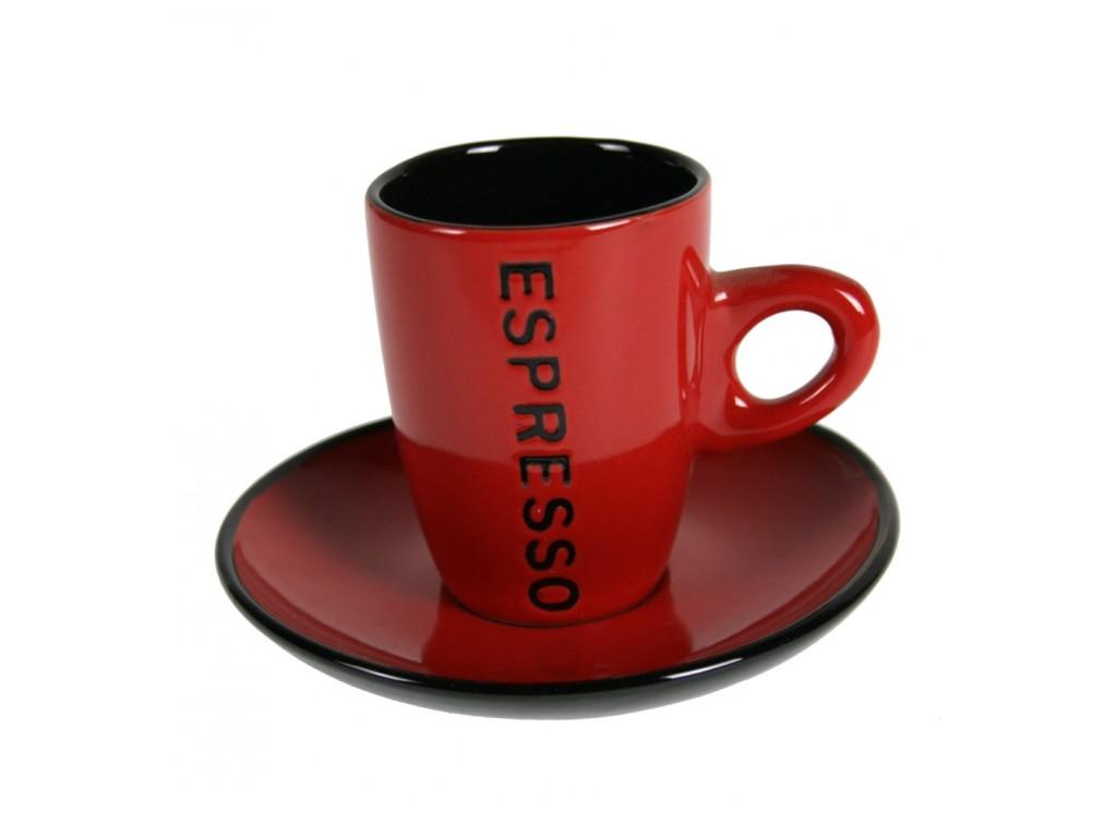 Comprar online tazas para cappuccino y espresso con plato for Tazas para cafe espresso