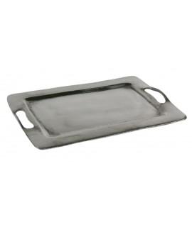 Vide plateau avec des poches en aluminium
