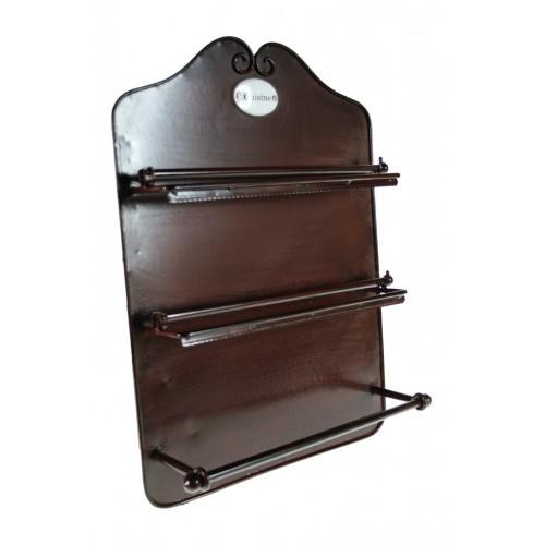 Porta rotlles de metall cuina triple for Portarrollos de cocina
