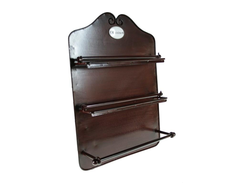 portarrollos de metal cocina triple