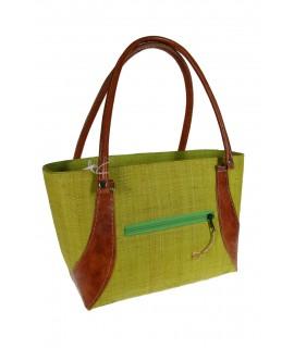 Bolso de Ráfia color Verde