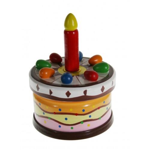 """Caja de música """"Tarta de Cumpleaños"""""""