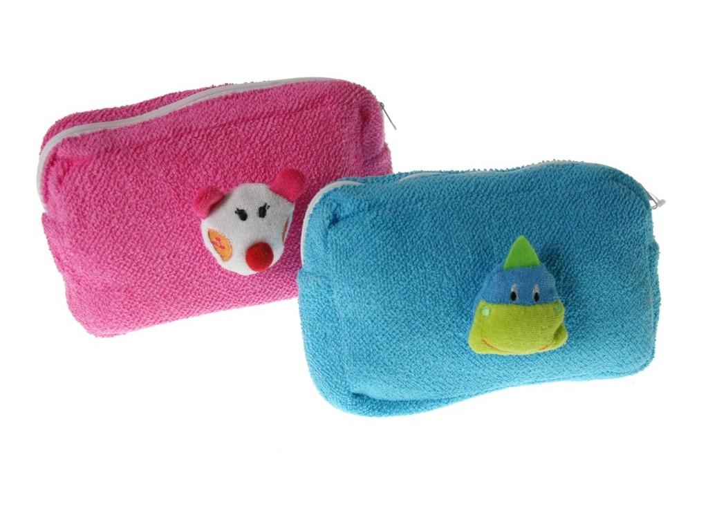 Neceser infantil bolsa de aseo color azul para colegio guarderia