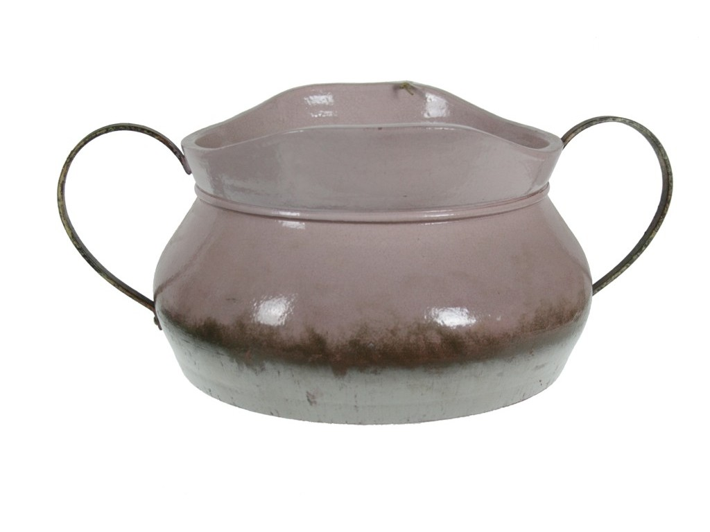 Centro de cerámica terracota