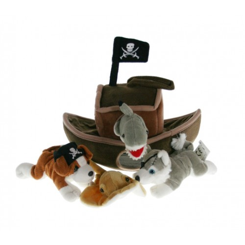 Barco Pirata de Tela