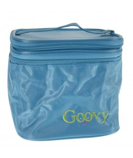 Petite boîte à lunch isotherme pour enfants avec compartiments bleus