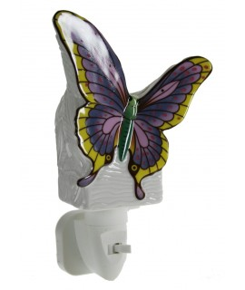 Luz de noche bebé forma de mariposa luz nocturna infantil