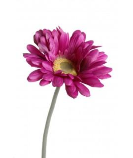Flor artificial Gerbera grande rosa