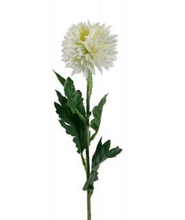 Flor artificial Crisantemos color blanco