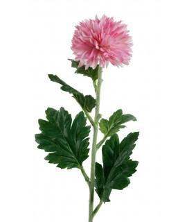 Flor artificial Crisantemos color rosa