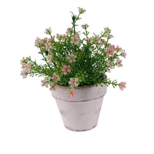 Flor en maceta