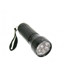 Linterna LED negro