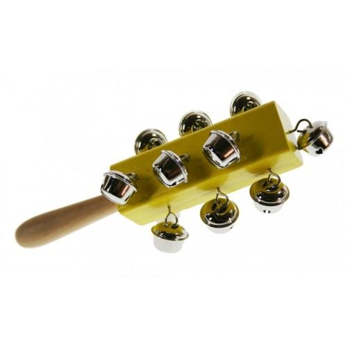 Sonajero de Campanilla para la motricidad juguete musical tradicional