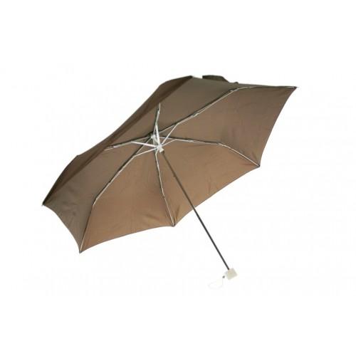 Paraigües petit plegable de pluja per bossa senyora color marró obertura automàtica regal per dia de la mare i amiga