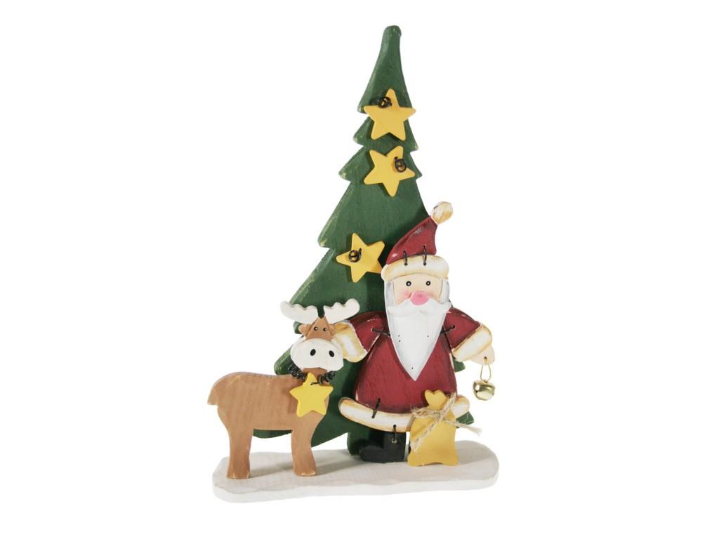 Papá Noel y reno