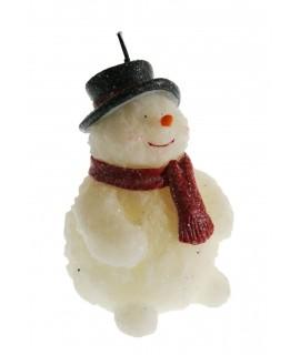 Vela Muñeco de Nieve