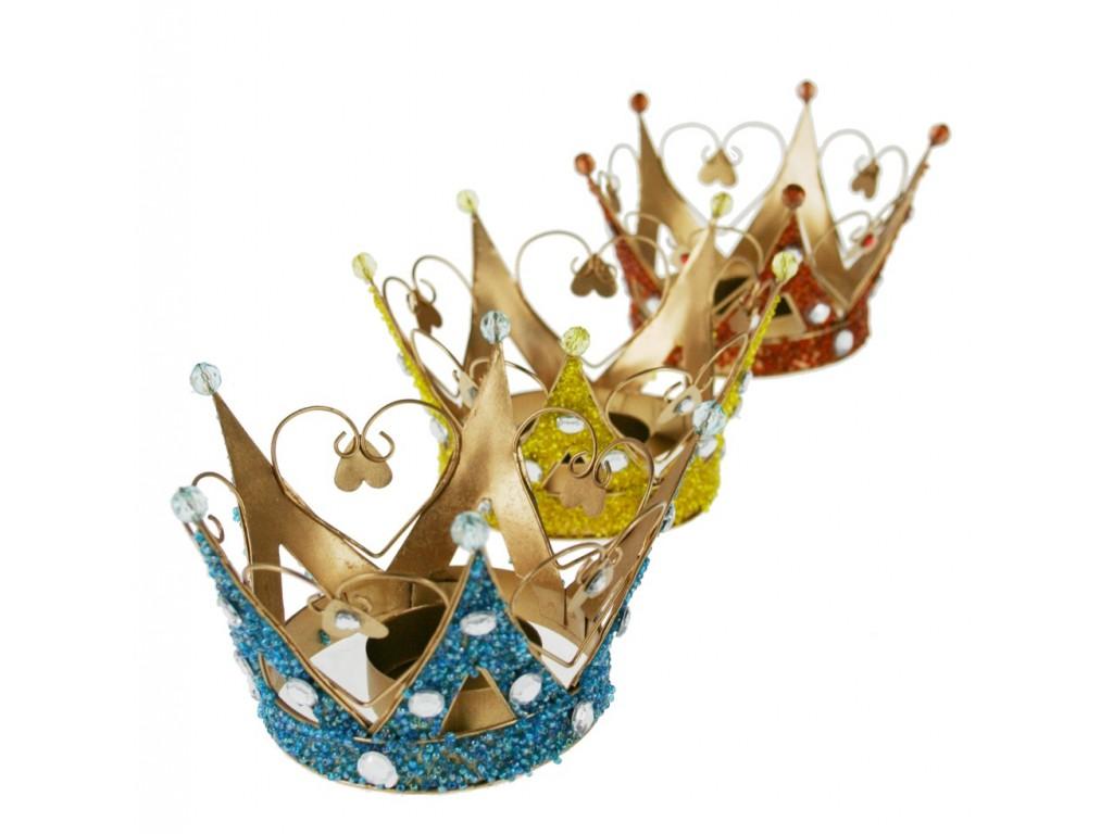 Corona para portavelas