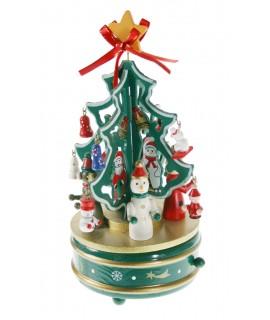 Caja musical árbol Navidad
