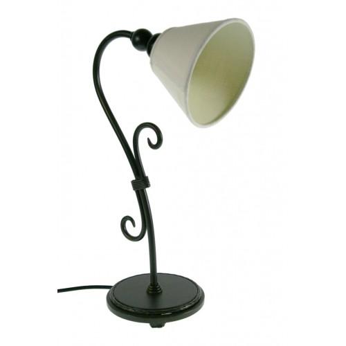 Lámpara de sobremesa metal color negro decoración estilo vintage