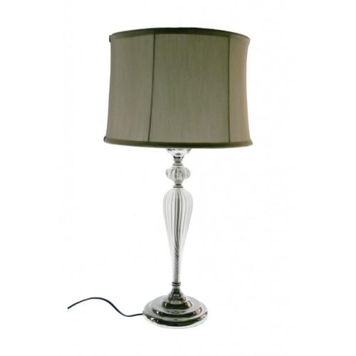 Lámpara Cristal/Plata