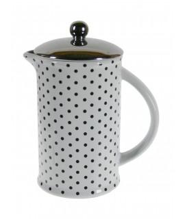 Cafetera americana de cerámica para servir el café servicio de mesa