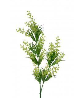 Flor artificial Heather verde