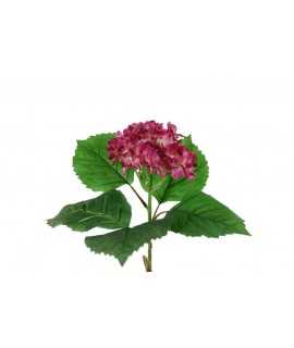 Flor artificial de Hortensia Hydrangea rosa