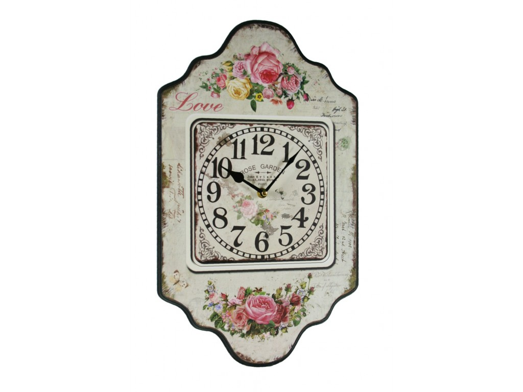 Reloj de pared para cocina flores - Reloj decorativo de pared ...