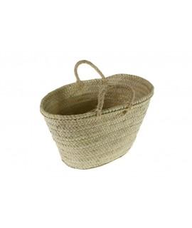 Capazo Mallorquín tradicional de hoja de palma
