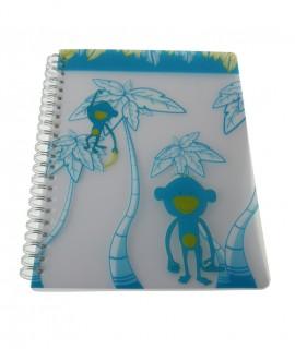 Llibreta A4 Tapa plàstic -Fulls cuadriculada-