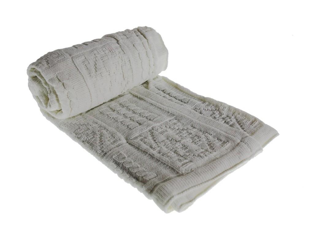 Manta Infantil Bebé -color Blanco-