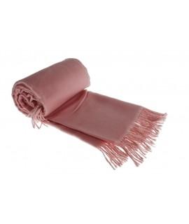 Manta suave Infantil bebé color rosa para cuna