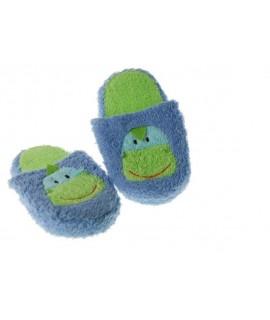 Zapatillas Baño -color Azul-