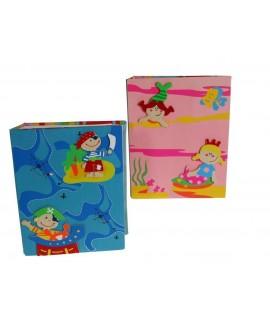 Álbum Infantil -color Rosa Hadas-