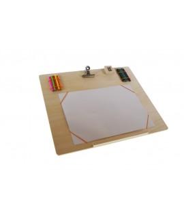 Tabla de madera para dibujar