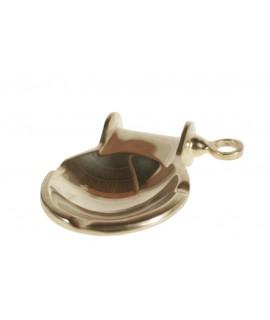 Cendrier de table en métal idéal pour les cadeaux de style vintage