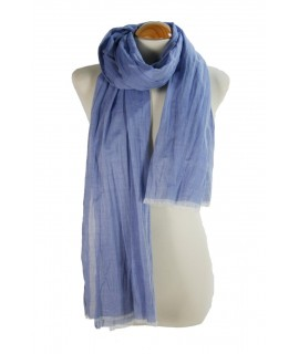 Foulard Azul Algodón