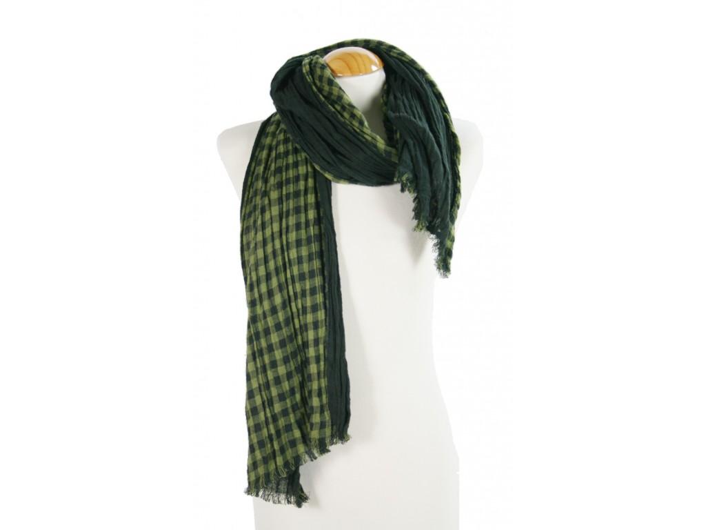 Foulard Cuadros color Verde/Negro
