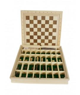 Joc d'Escacs i Dames de fusta