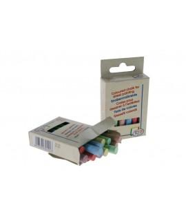 Caja de 12 tizas de colores