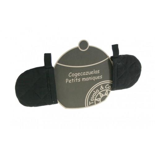 Coge-Cacerolas -color Negro-