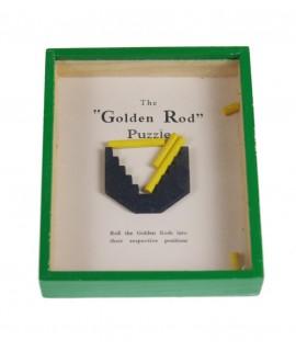 Juegos de habilidad palitos en caja de madera color verde. Medidas: 2x10x13 cm.