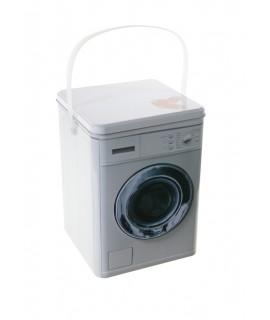 Caja metálica para pastillas lavadora