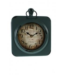 Reloj de colgar azul