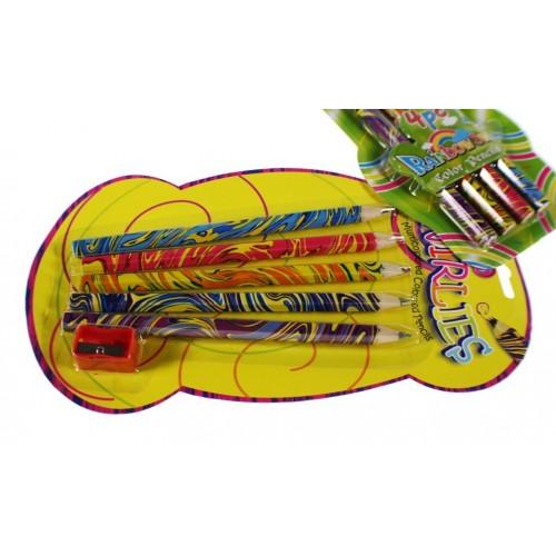 Lápices de colores -Arcoiris 5 colores-