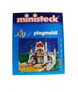 Puzzle château de 3500 pièces pour s'adapter à Playmobil