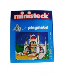 Puzzle Castillo de 3500 piezas para encajar playmobil