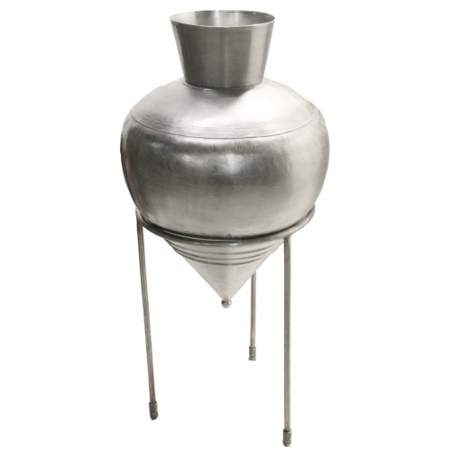 Àmfora de metall amb peu