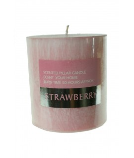 Espelma aromàtica fragància maduixa durada 50 hores fragància afruitat